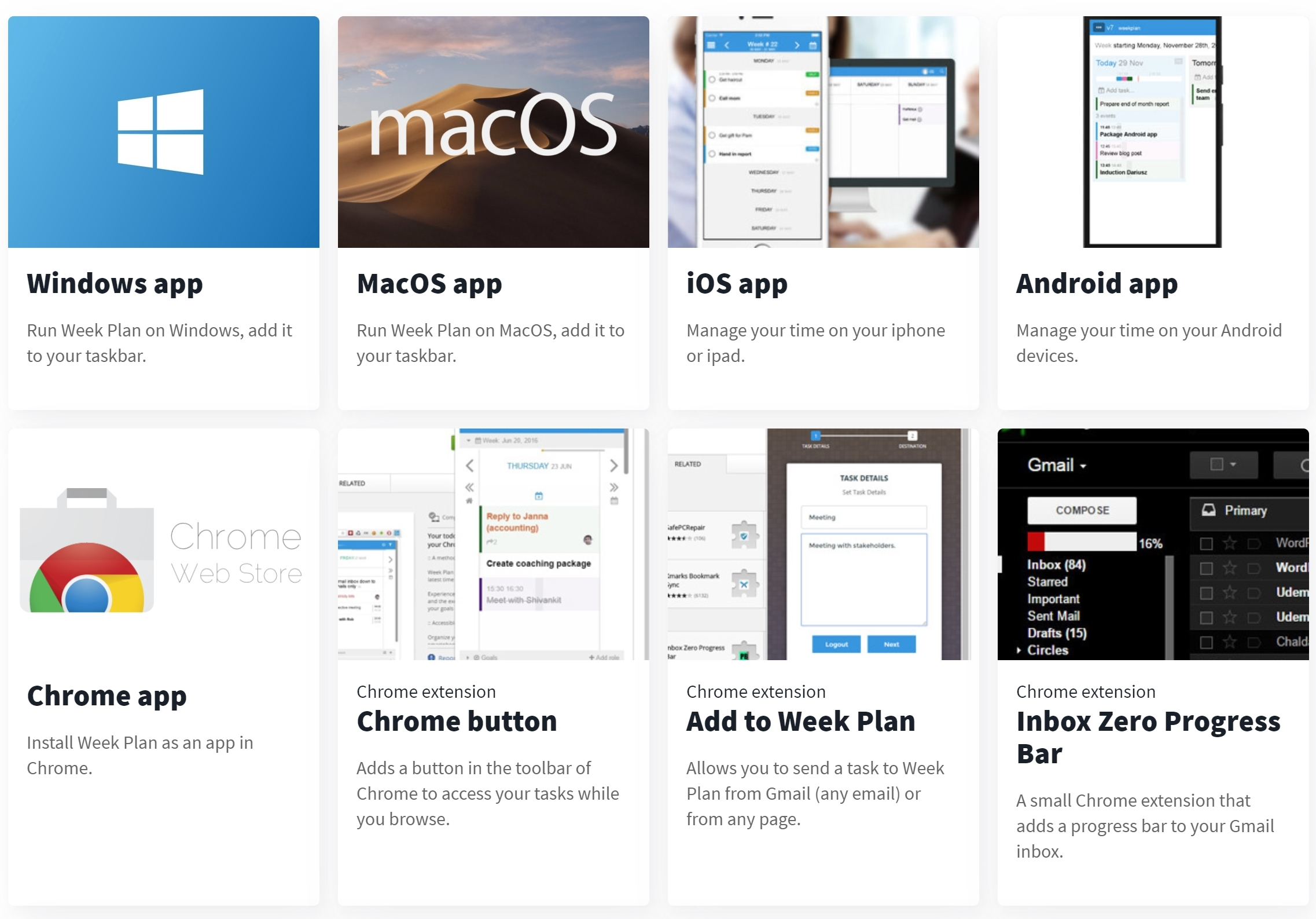 WeekPlan's Integration with 1000+ Other Apps | Week Plan