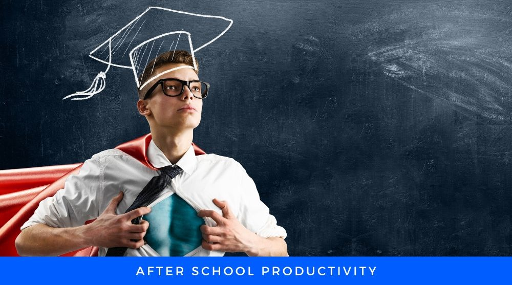 improve productivity after school