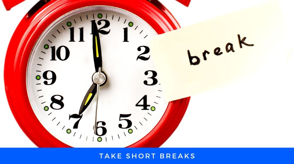 Clock Showing Break Time